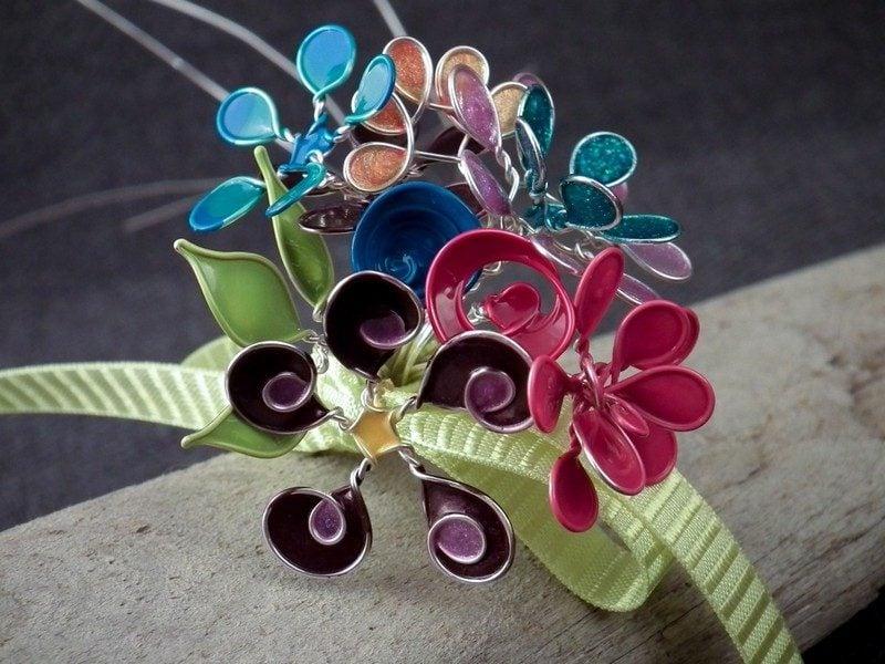 Schmuck basteln als kleines geschenk ideen und anleitungen - Nagellack ideen ...
