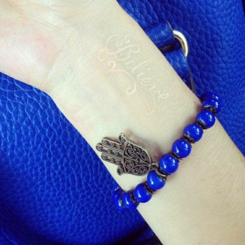 3d Tattoo Schrift weiβ