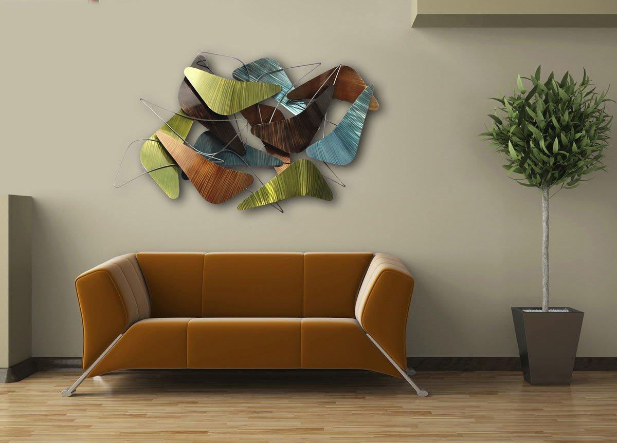Abstraktes Kunst fürs Wohnzimmer