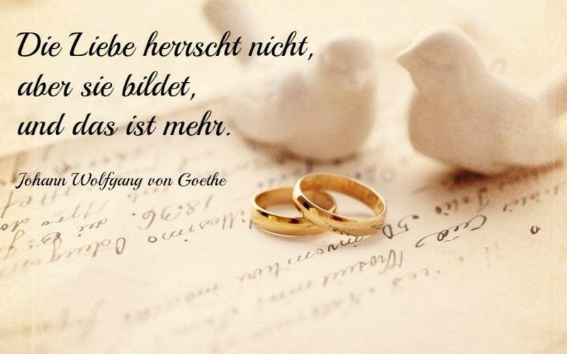 eiserne Hochzeit Zitate Goethe