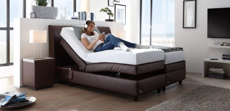 Boxspringbett für eine luxuriöse Einrichtung im Schlafzimmer