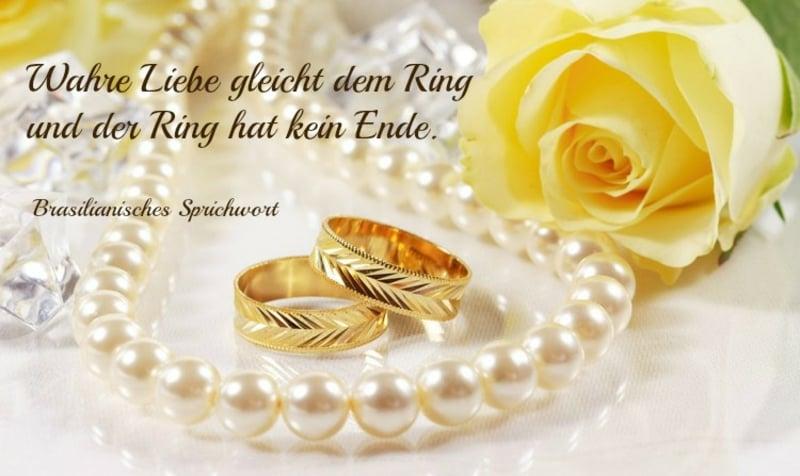 Sprüche und Wünsche goldene Hochzeit