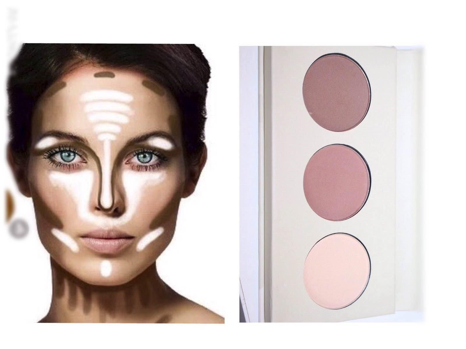 Gesichtscontour - gestalten Sie ihr Gesicht um