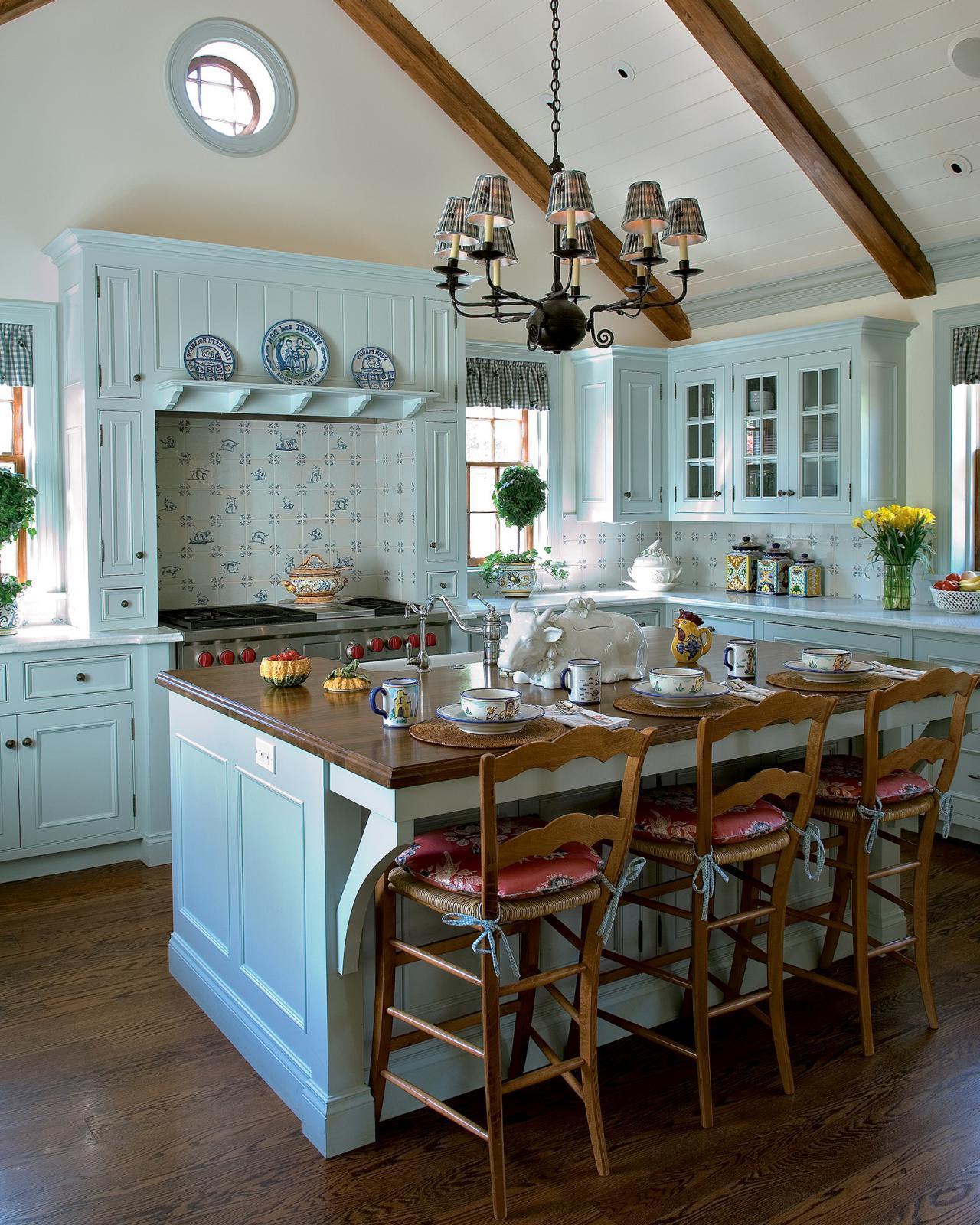 Küche Landhausstil - Modern trifft auf Romantik und Tradition ...