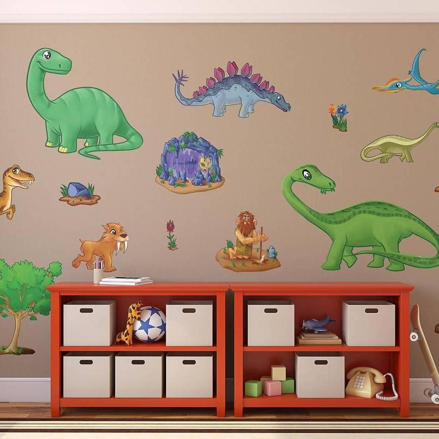 Süße Tapeten für Dinosaurier Liebhaber
