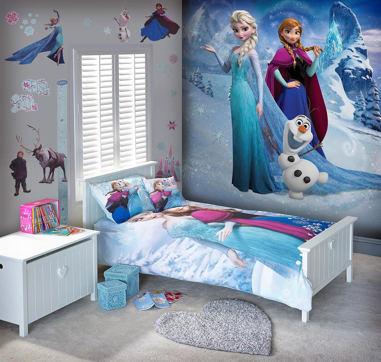 Frozen Tapeten - ein wahrer Mädchen Traum