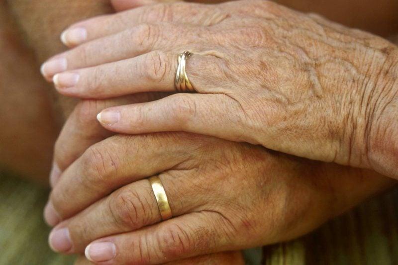 Hochzeitstag Geschenk goldene Hochzeit
