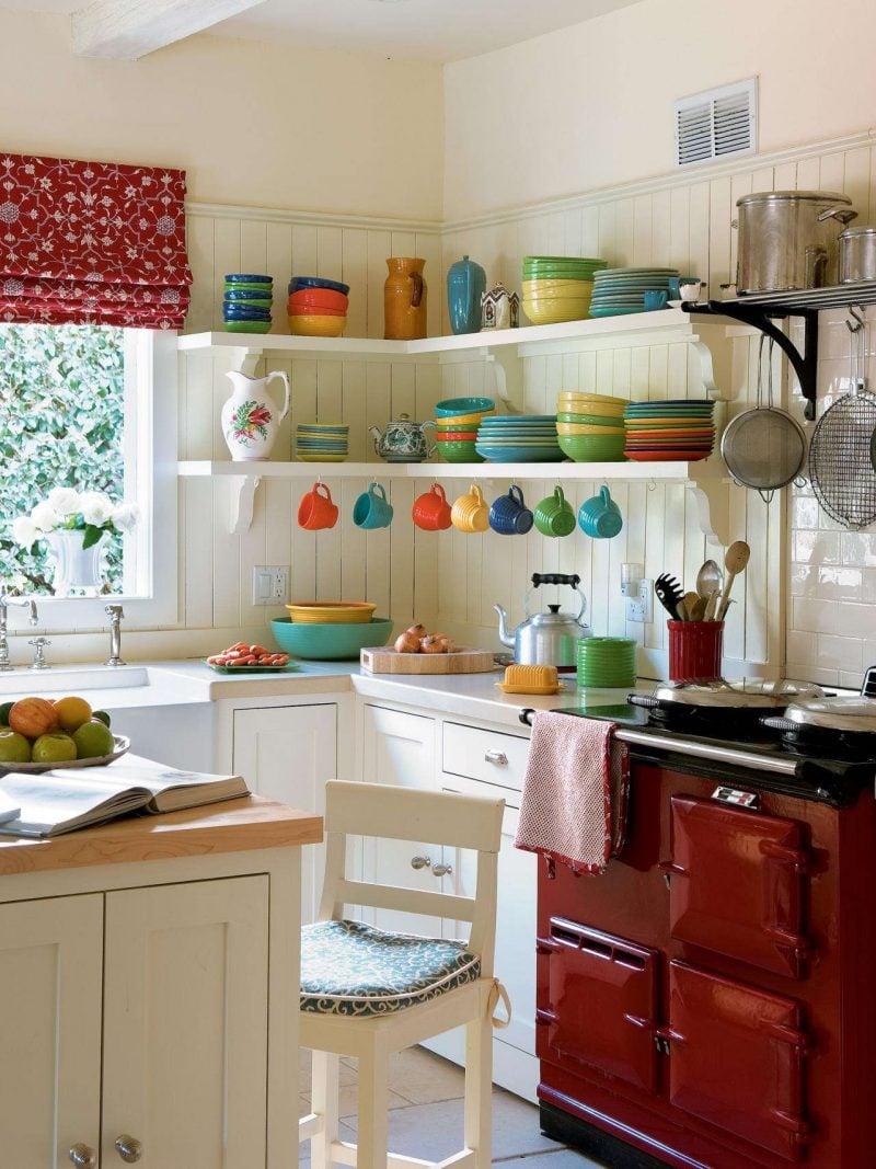 Küchendeko mit Farben