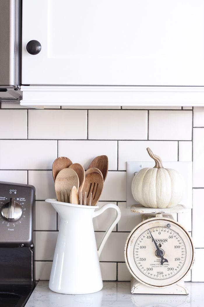 Küchendeko Ideen Holzdeko