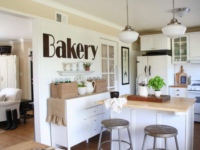 Küchendeko weiße Küche