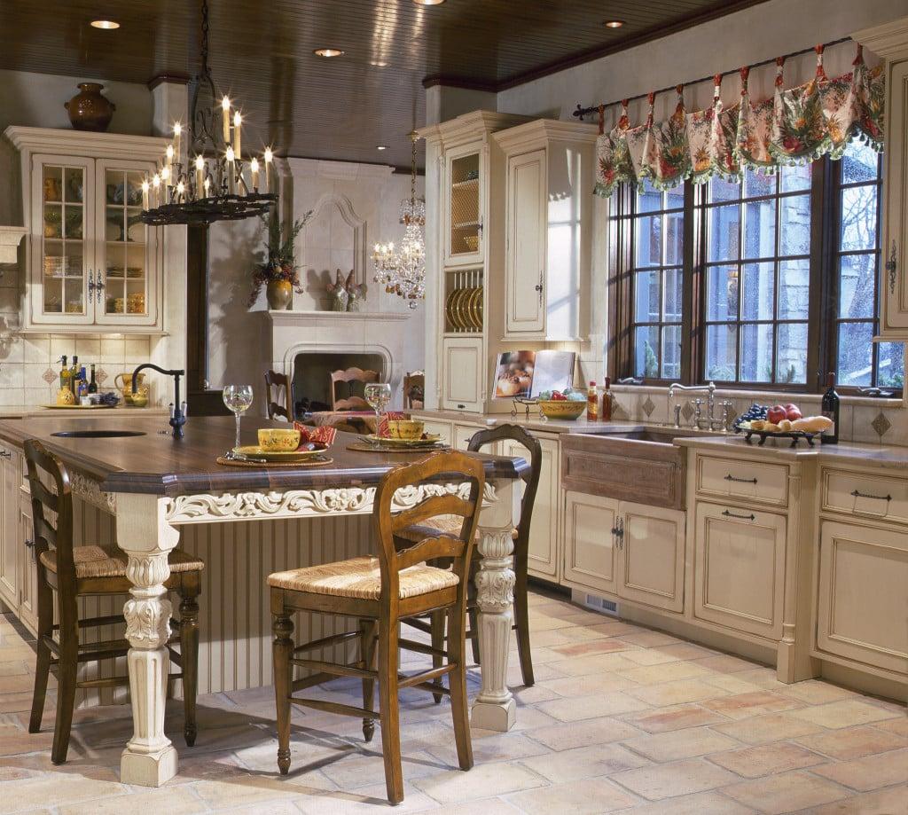 Fabelhafte Küche im Landhausstil mit schicken Akzenten