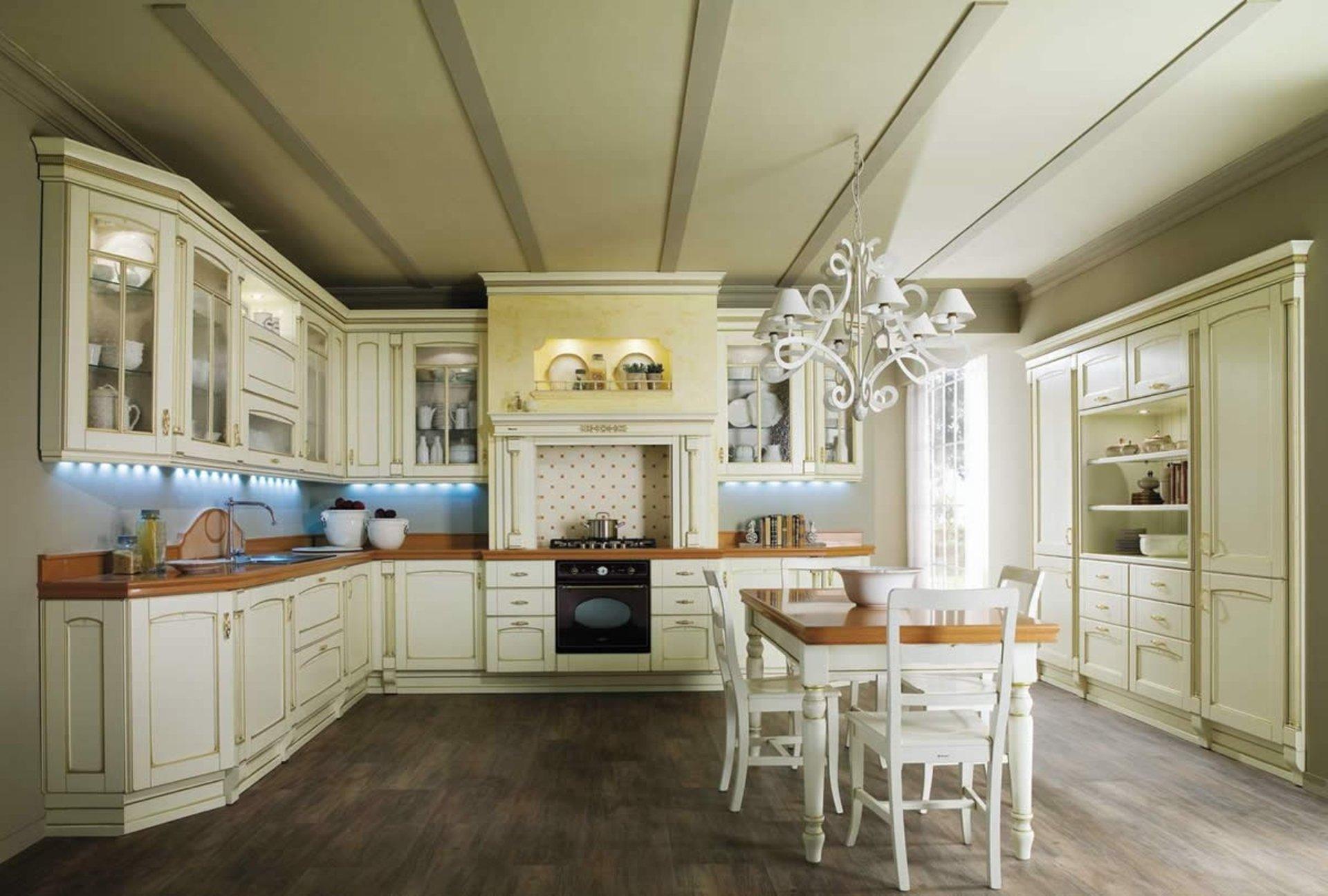 Romatink pur - Küche im Landhausstil