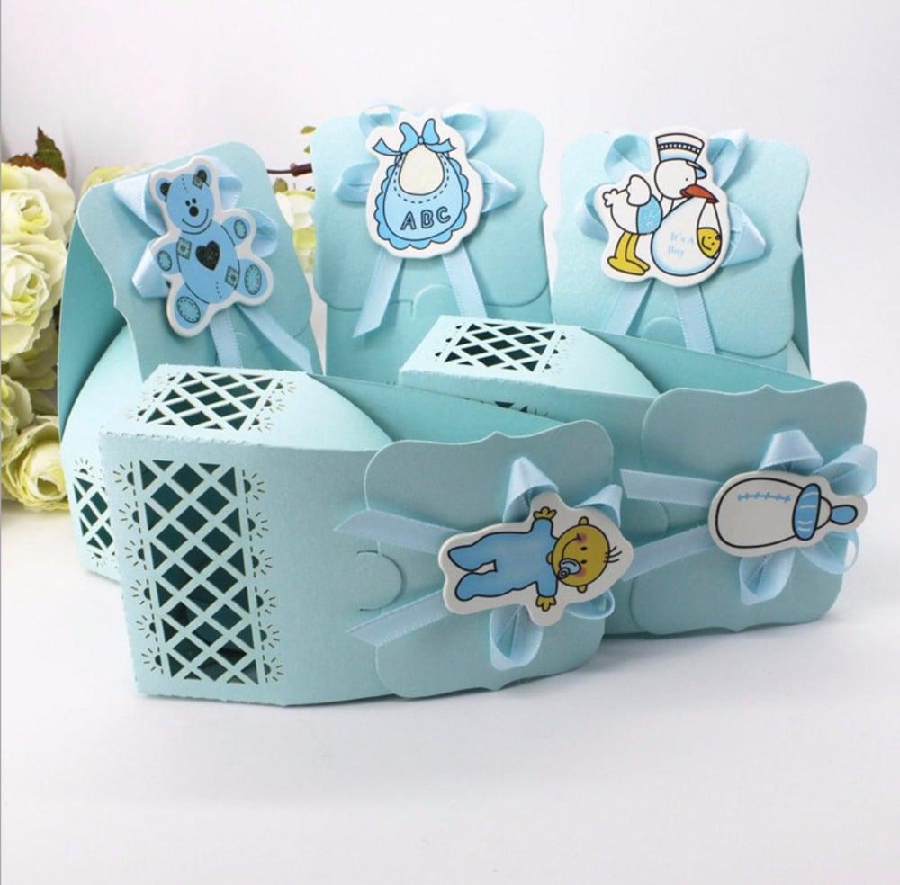 Geschenkbox für Baby-Anlässe