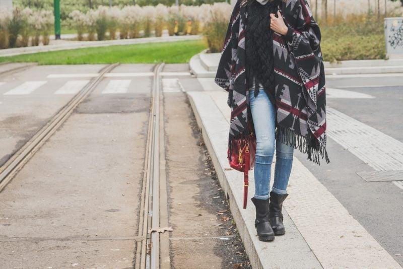 Ein kuschelig-warmer Überwurf – der Poncho