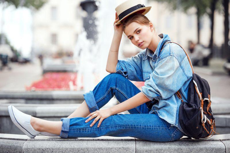 Outfit Idee für die Übergangszeit: Jeans ist der Allrounder jeder Jahreszeit