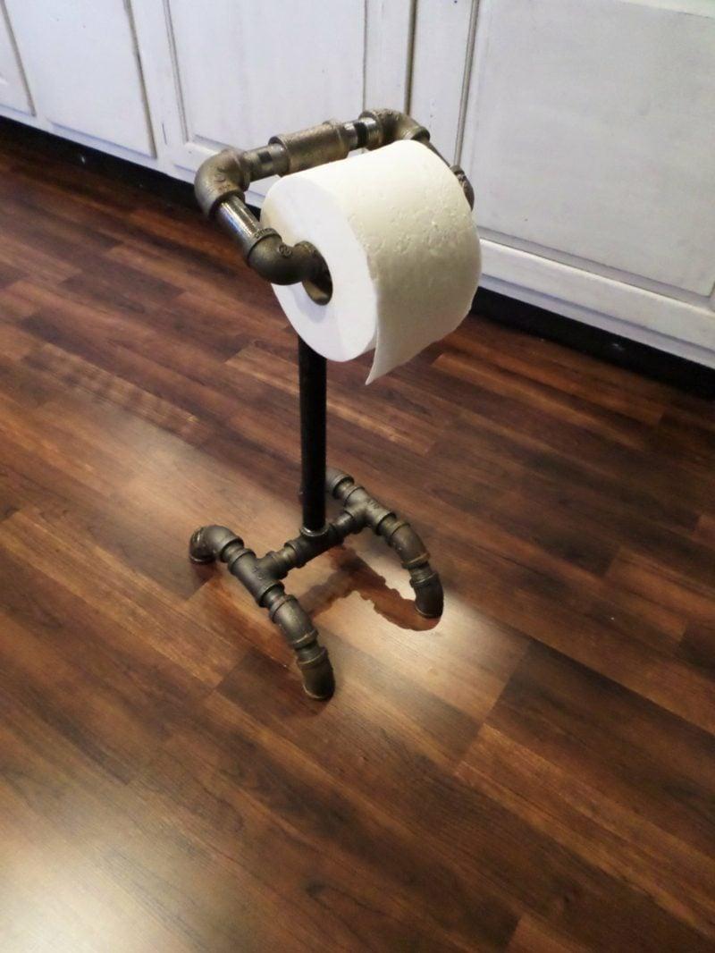 industrie rohr toilettenpapierhalter