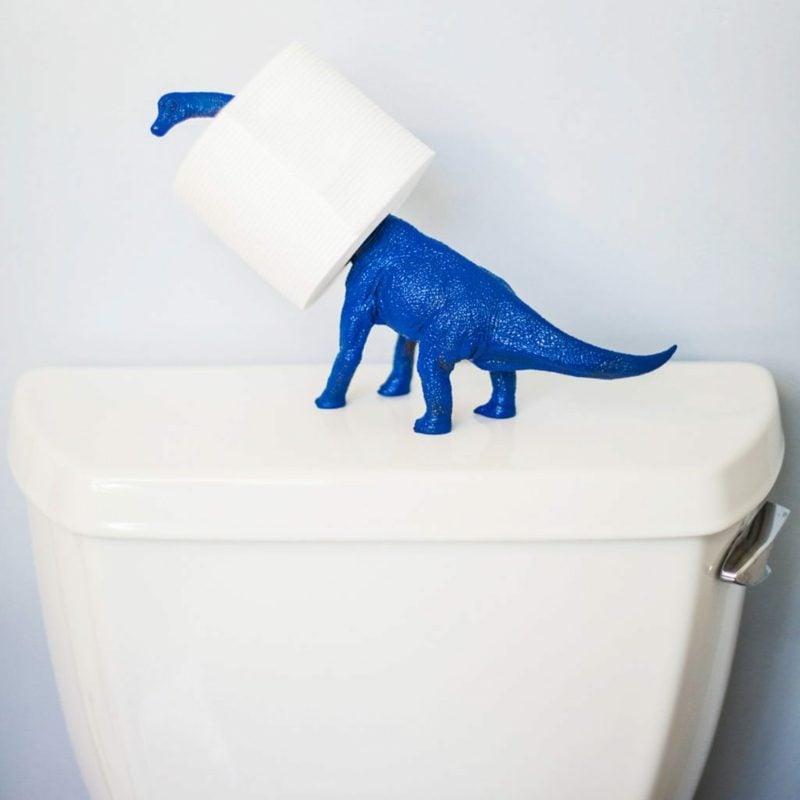 dinosaurier toilettenpapierhalter
