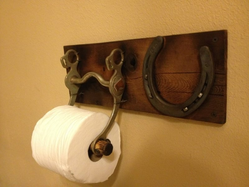 rustikal toilettenpapierhalter