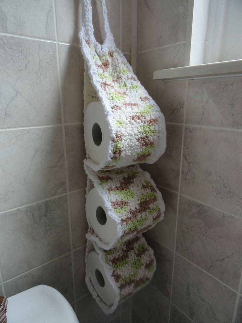 wc papierhalter gestricken
