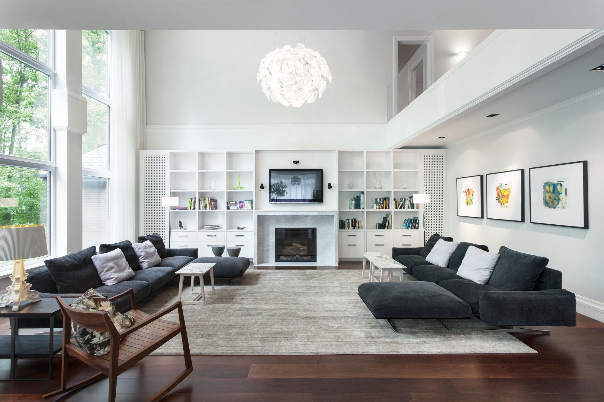 Helle Wohnung, stilvoll eingerichtet