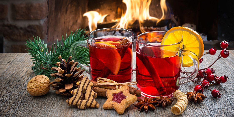 Am 1. Advent Glühwein trinken