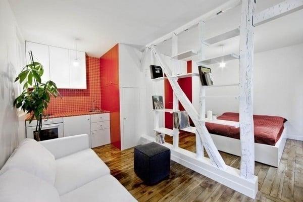 kleines Zimmer Einrichten in 1 Zimmer Wohnung