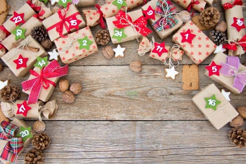 Adventssprüche Adventskalender selber basteln kreative Ideen