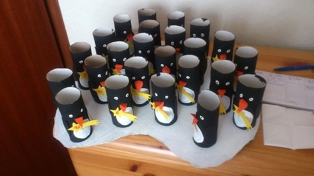 Pinguine Adventskalender