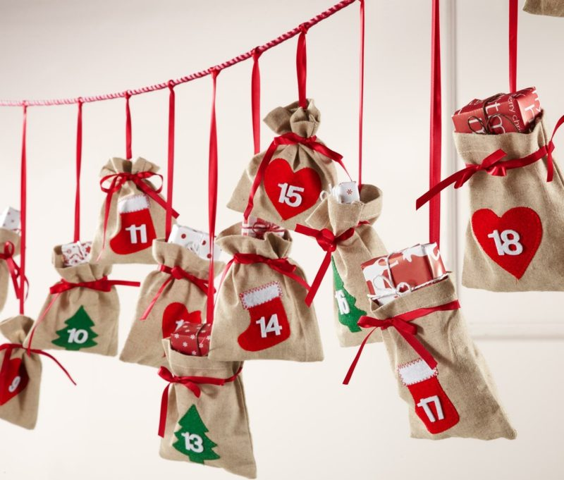 Adventssprüche DIY Adventskalender