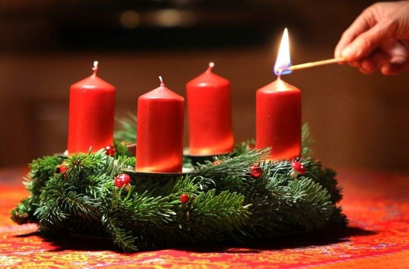Adventssprüche zum ersten Advent Lieblingsmenschen begrüssen