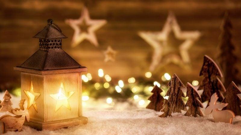 Adventssprüche weihnachtliche Stimmung zu Hause bringen
