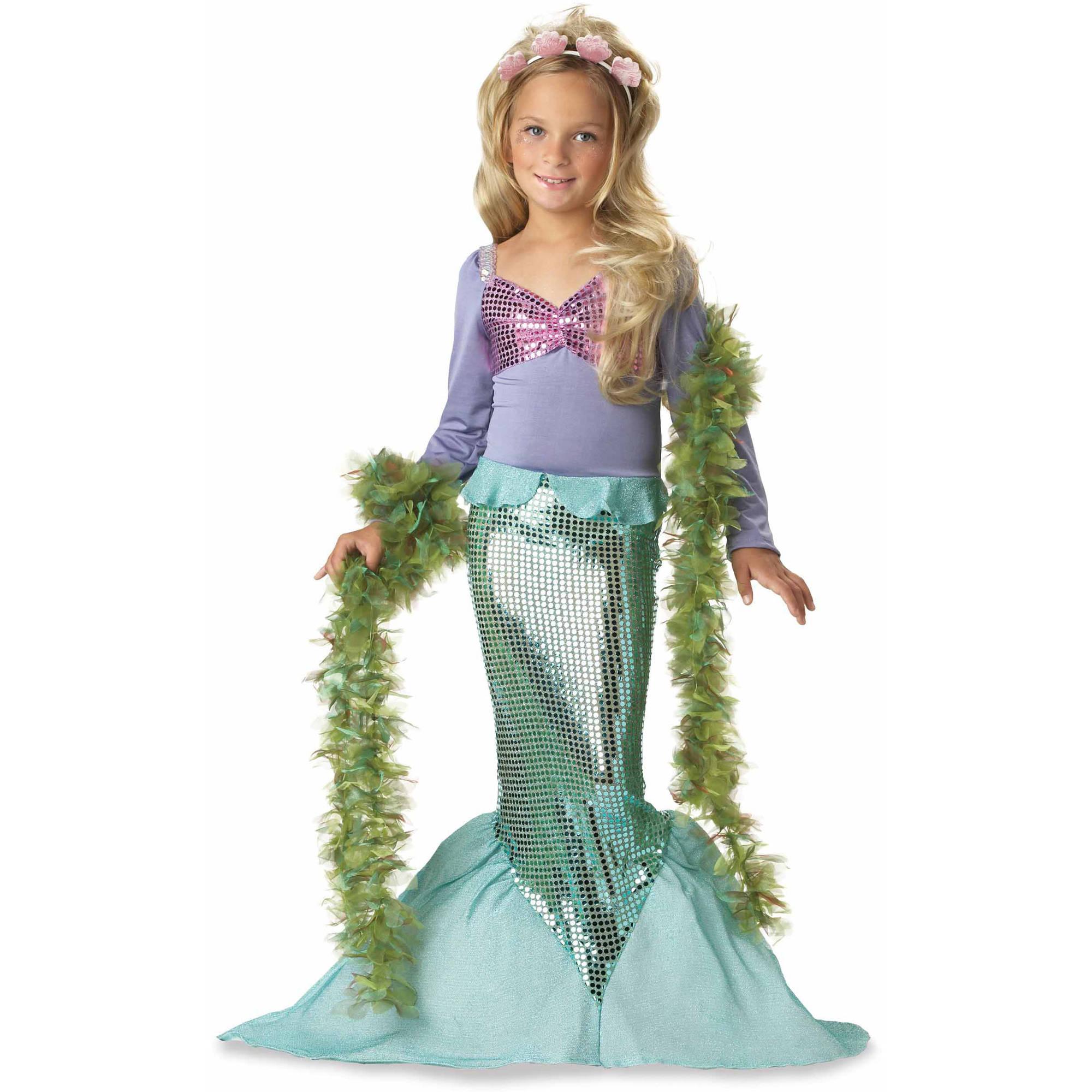 Arielle, die Meerjungfrau - ein tolles Halloweeen Kostüm Kinder