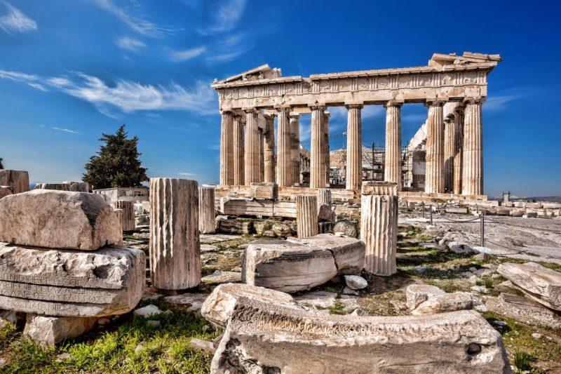 die schönsten Orte der Welt Athens Akropolis