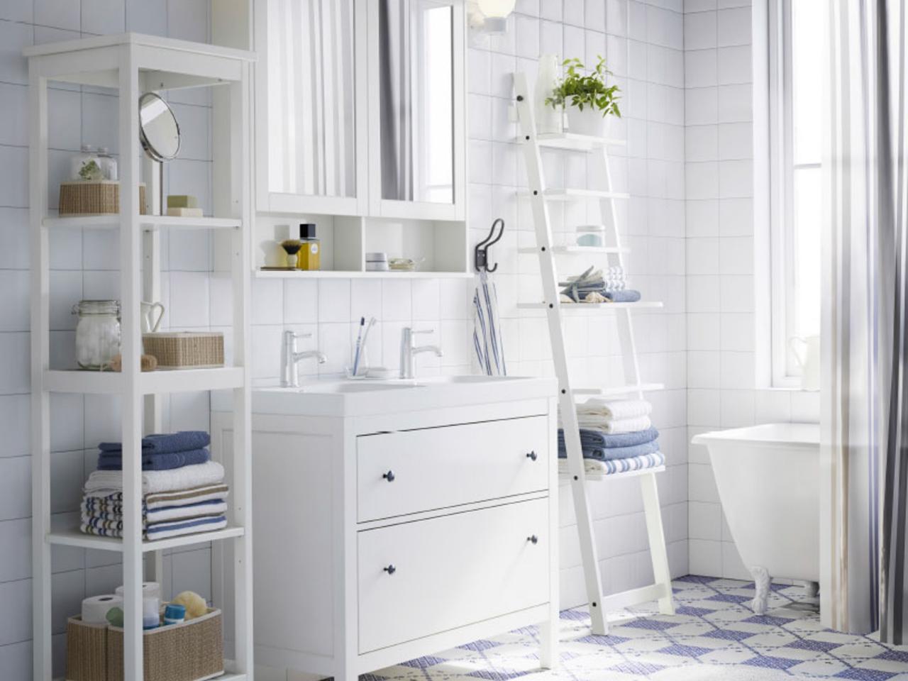 Ikea Bad im skandinavischen Stil