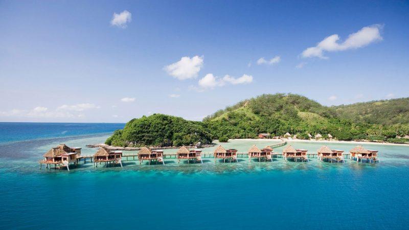 die schönsten Orte der Welt Cookinseln Landschaft Lagune