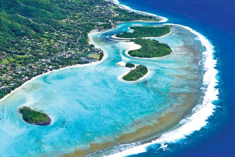 die schönsten Orte der Welt Cookinseln Pazifischen Ozean
