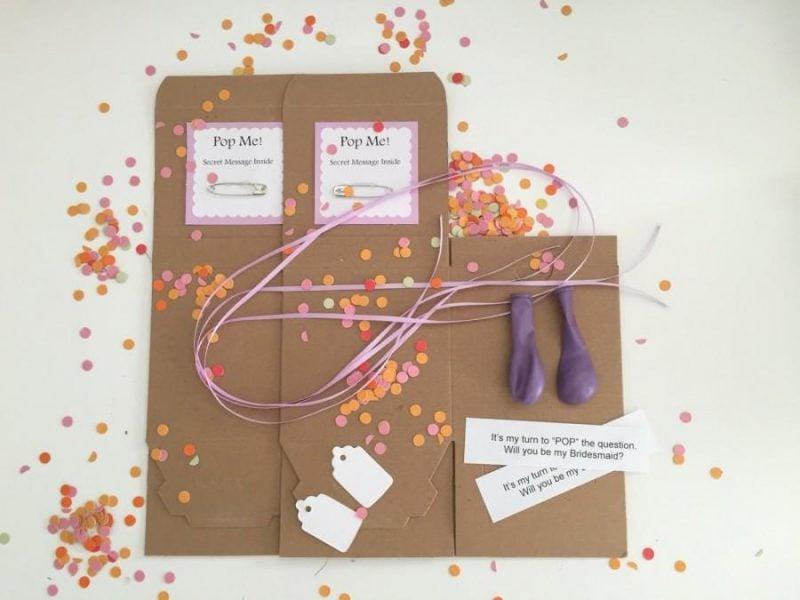 Anleitung für Überraschungsbox als Einladungskarten kostenlos zum Ausdrucken