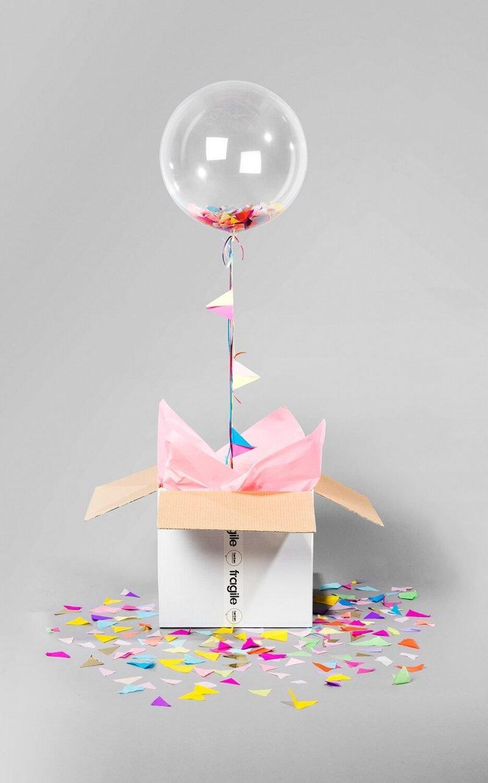 Gas gefüllte Ballon Einladungskarten kostenlos zum Ausdrucken