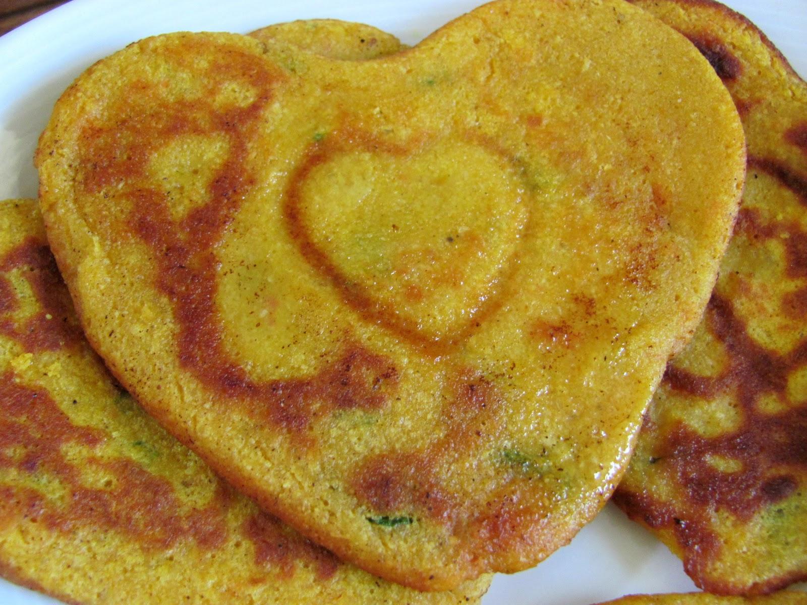 Gemüse Pfannkuchen