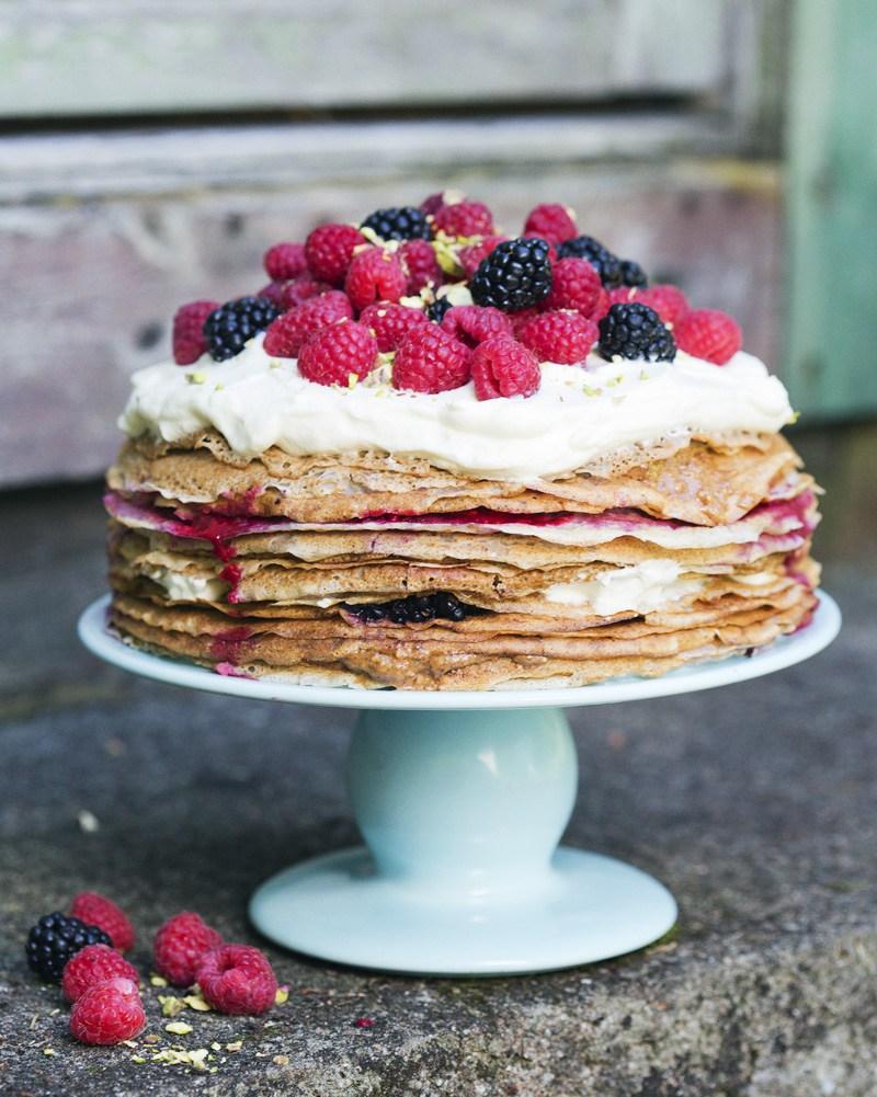 Vollkornpancakes - Torte mal anders