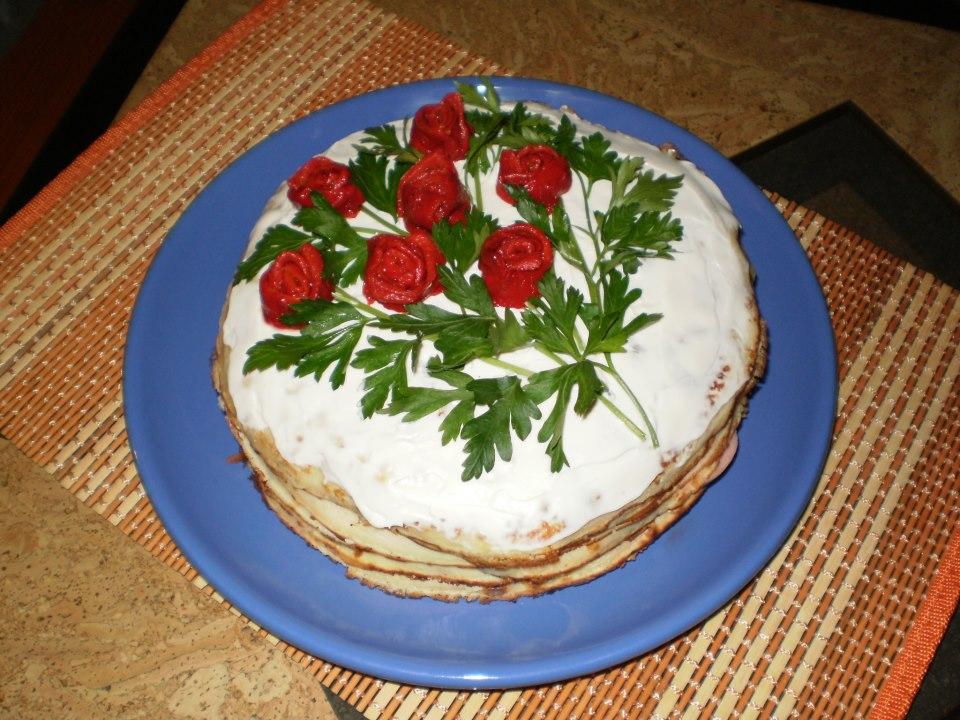 Torte-salzig und lecker