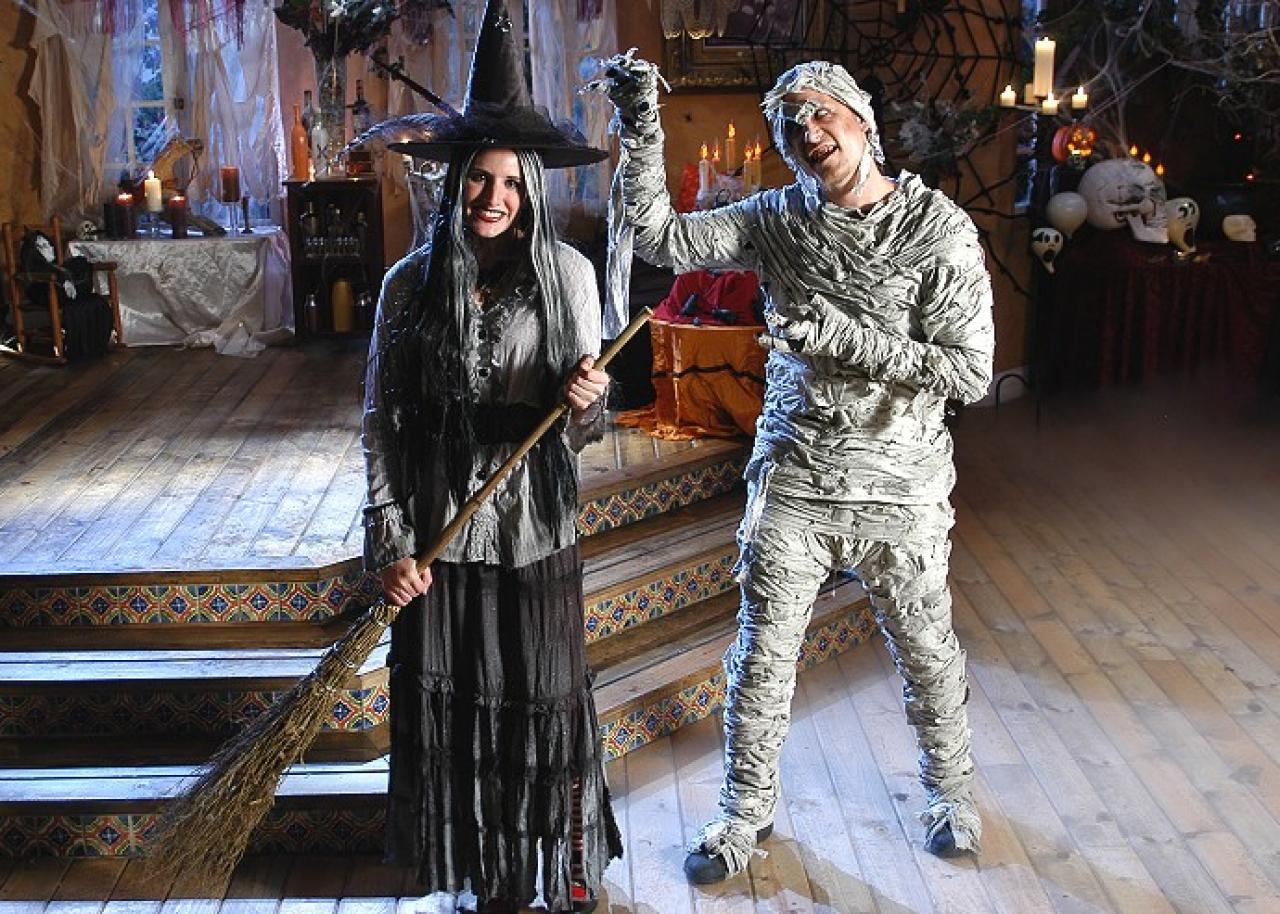 Hexenkostüm für Halloween