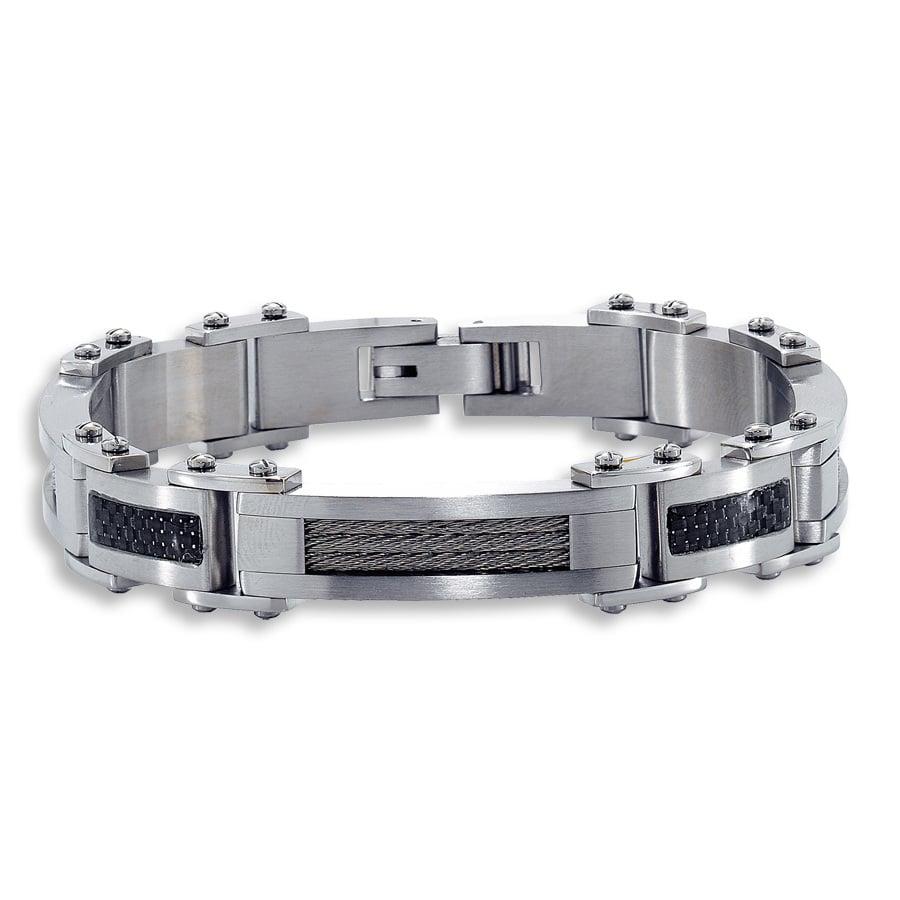 Herren Armband aus Edelstahl