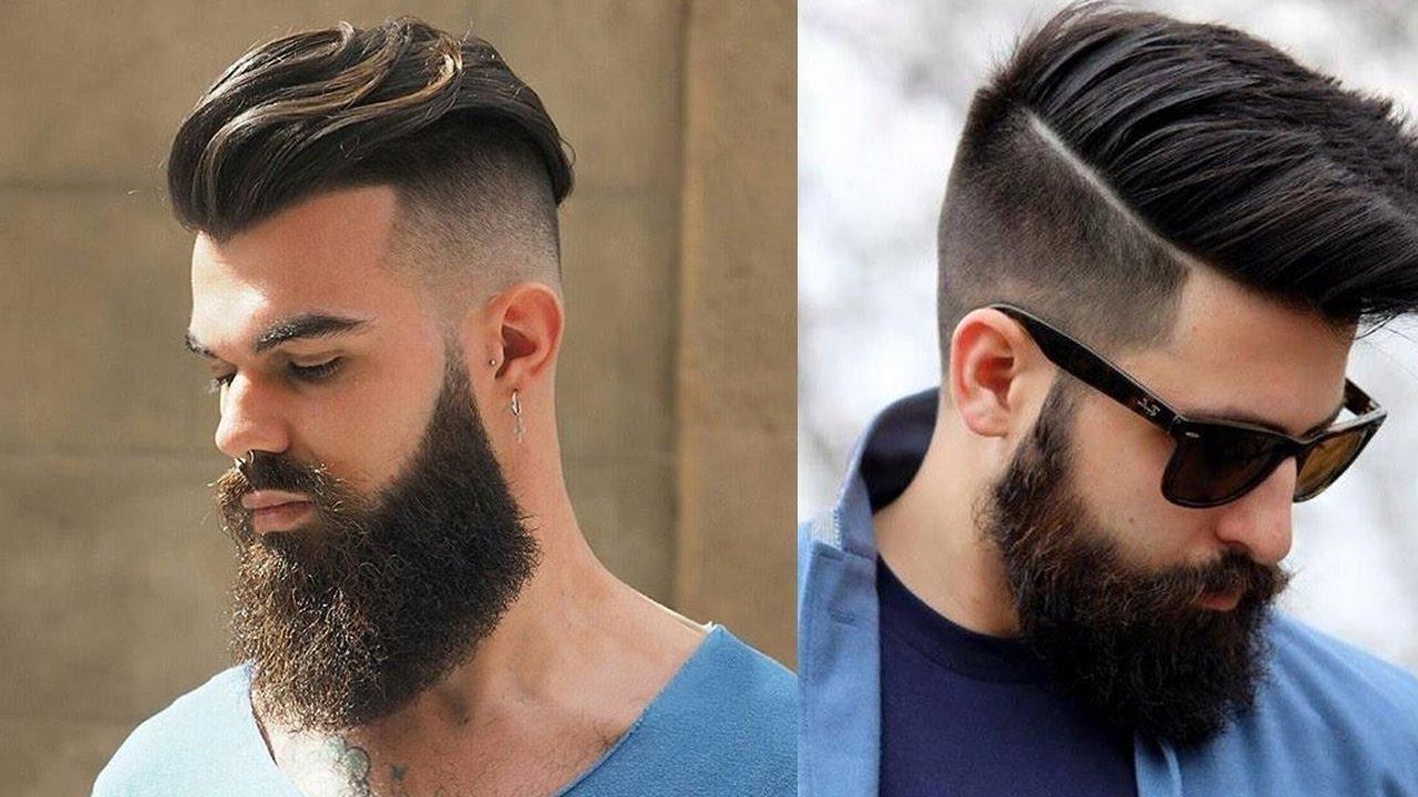 Bart und Haare im Zusammenklang