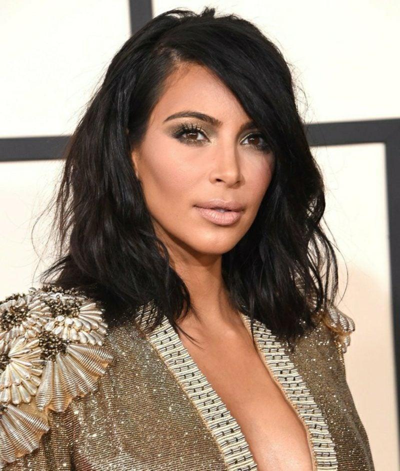 Frisuren 2016 Langhaar Kim Kardashian