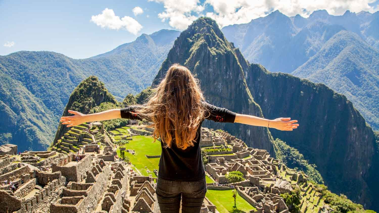 die schönsten Orte der Welt Machu Pucchu atemberaubende Natur