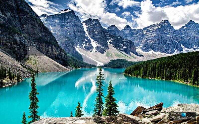 die schönsten Orte der Welt Kanada Moraine Lake