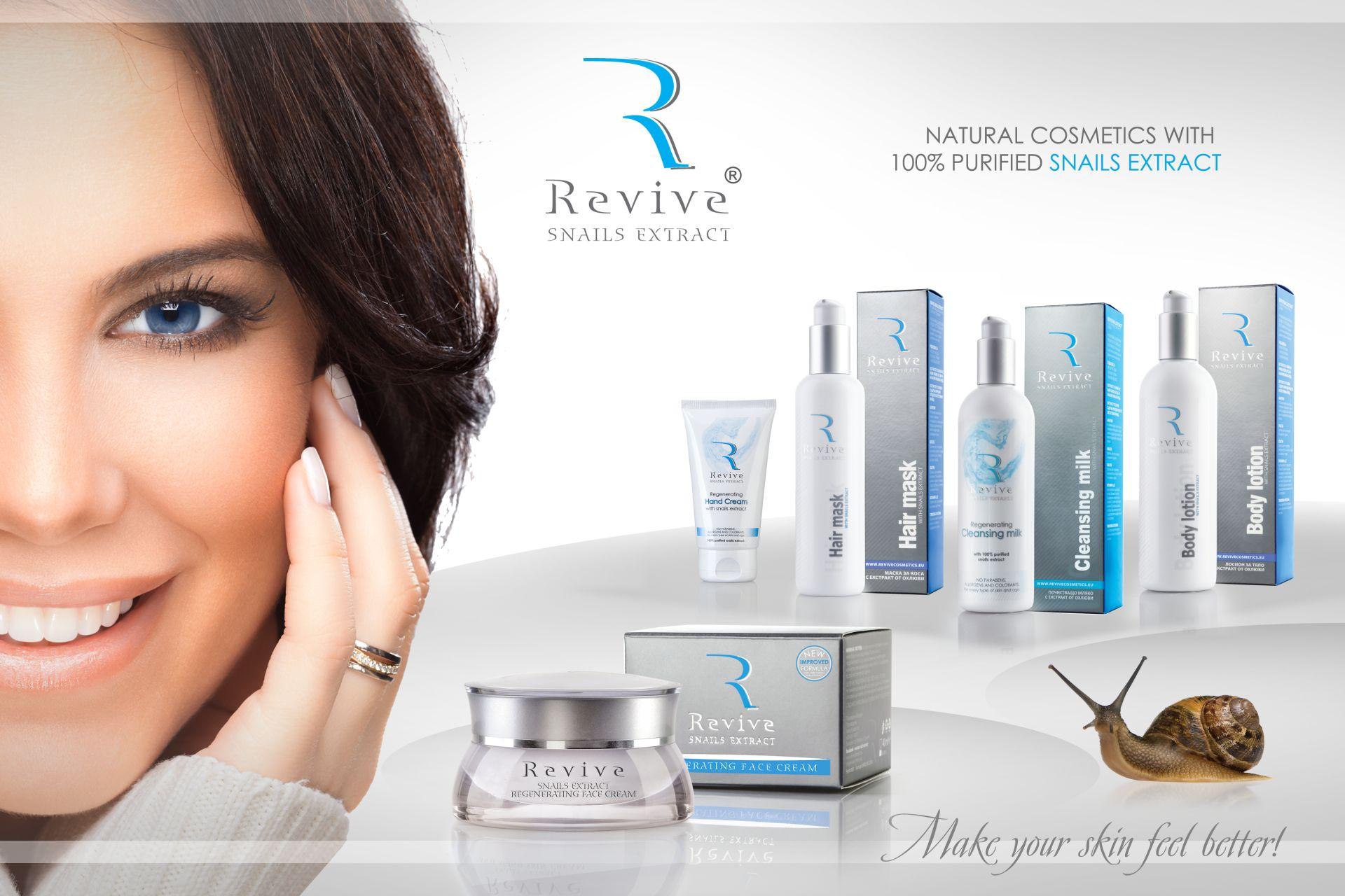 Schnecken für anti falten Gesichtspflege
