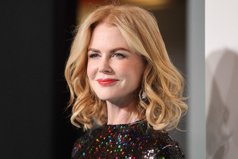 Long Bob Blond Nicole Kidman