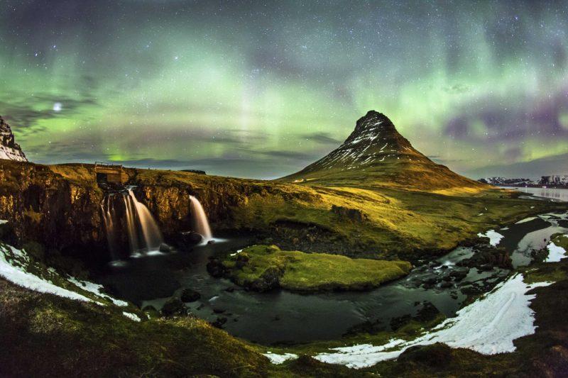 die schönsten Orte der Welt Island Nordlichter